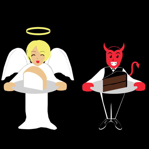angel and devil by Flickr user Alex Gorzen