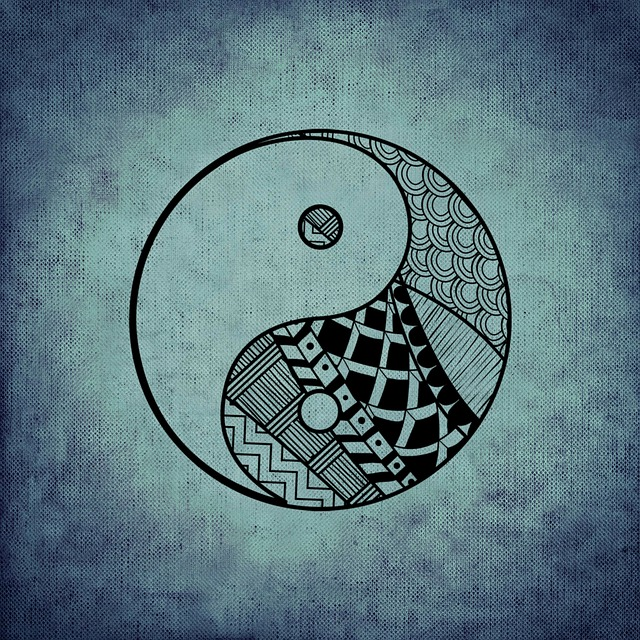 yin and yang illustration