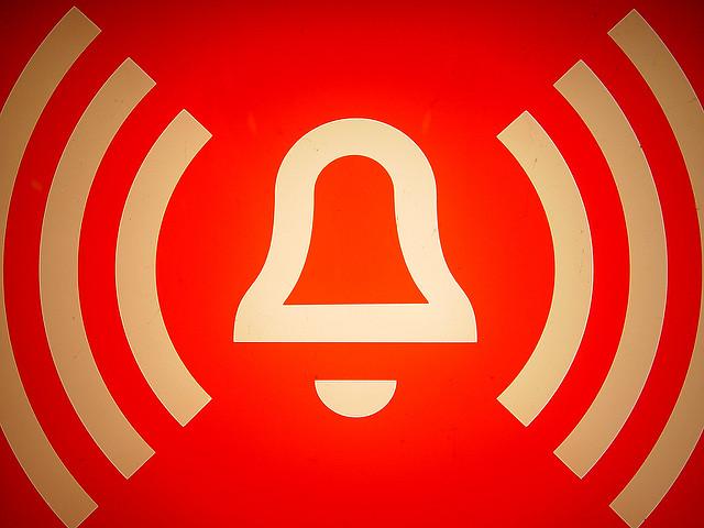 alarm by Flickr user debsilver