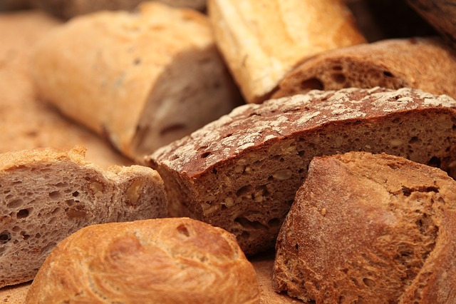 different baked breads