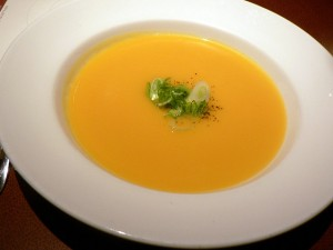 pumpkin soup by Flickr user stu_spivack