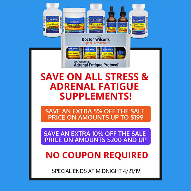 Adrenal Fatigue Group Sale