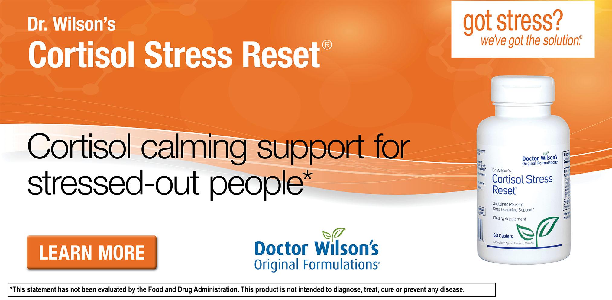 Dr. Wilson's Cortisol Stress Reset