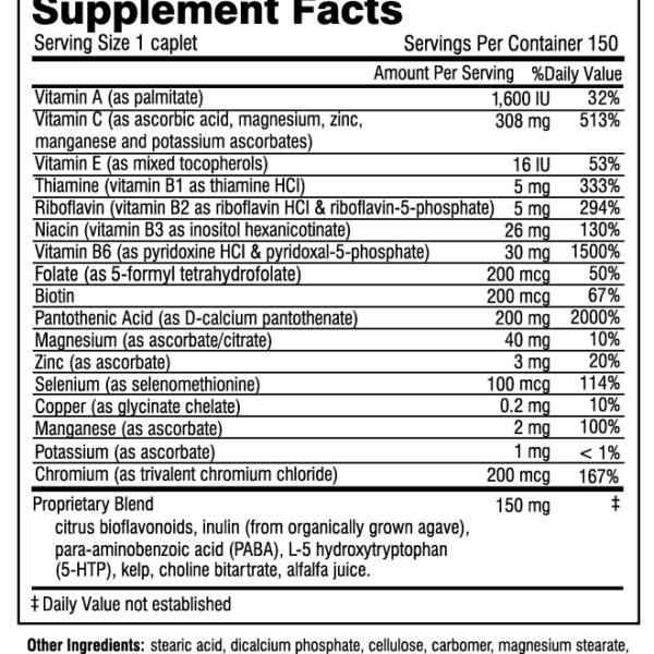SASF150 supplement facts 2017