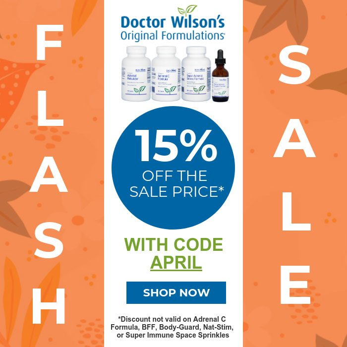 Save 15% with code april