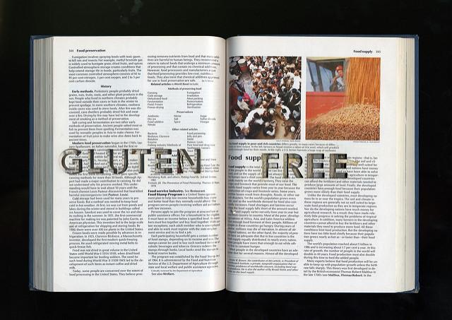 gluten free book by Flickr user Michael Mandiberg