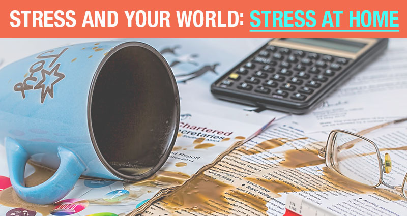 stress and your world: stress at home